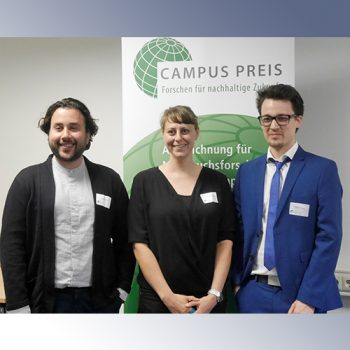Preisträger des Campus Preises der Kellner+Stoll Stiftung2019