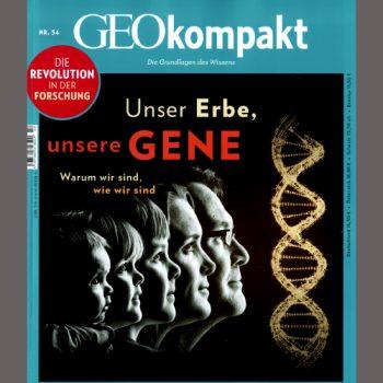 GeoKompakt Titelseite über Genetik