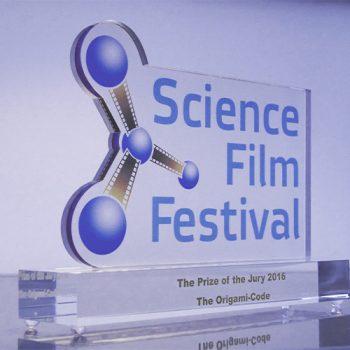 Science film Festival preis des Goethe Instituts für den Origami Code Film