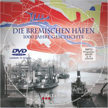 """DVD des Films """"Die Bremischen Häfen - 1000 Jahre Geschichte"""""""