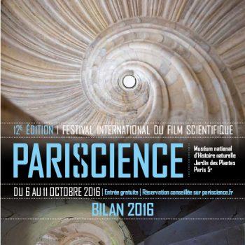Plakat Pariscience festival 2016