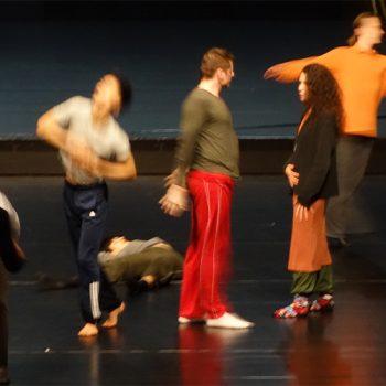 Szenenfoto aus dem filmprojekt tanzerbe