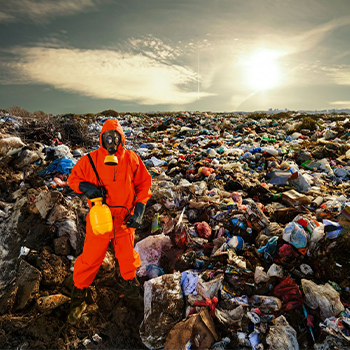 Bild von Plastikmüll zum Filmprojekt