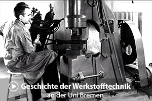 Szenenfoto zum Film Geschichte der Werkstofftechnik an der Uni Bremen ITW